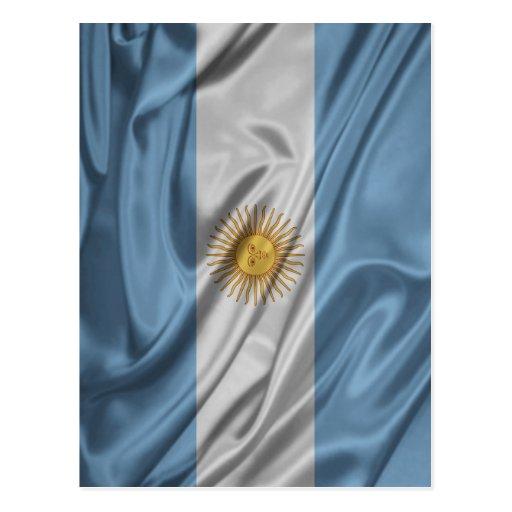 Bandera de la Argentina Postales
