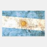 Bandera de la Argentina Rectangular Altavoces