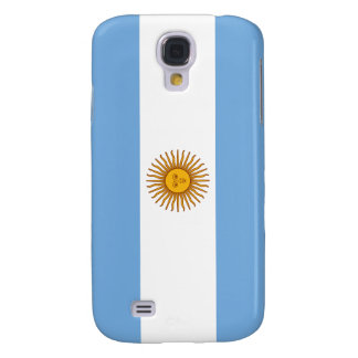 Bandera de la Argentina Samsung Galaxy S4 Cover