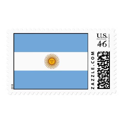 Bandera de la Argentina Sellos