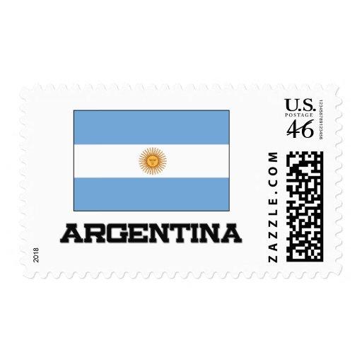 Bandera de la Argentina Franqueo