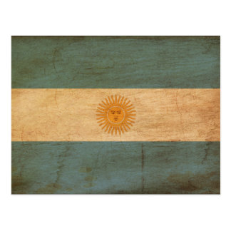 Bandera de la Argentina Tarjetas Postales