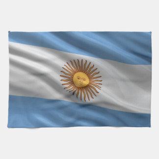 Bandera de la Argentina Toalla De Mano