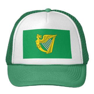 Bandera de la arpa de Irlanda Gorro
