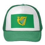 Bandera de la arpa de Irlanda Gorros