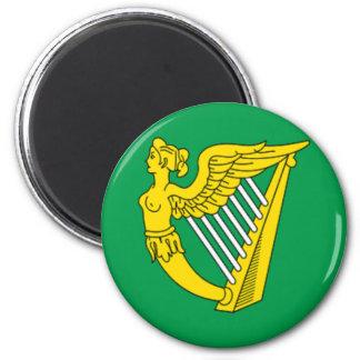 Bandera de la arpa de Irlanda Iman De Frigorífico