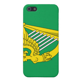 Bandera de la arpa de Irlanda iPhone 5 Protector