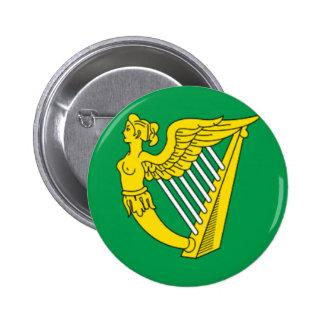Bandera de la arpa de Irlanda Pins