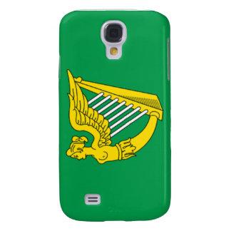 Bandera de la arpa de Irlanda Samsung Galaxy S4 Cover