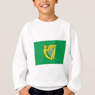 Bandera de la arpa de Irlanda Sudadera