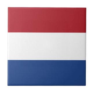 Bandera de la baldosa cerámica holandesa azulejo cuadrado pequeño