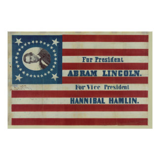 Bandera de la bandera de la campaña de la póster