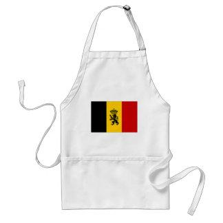 Bandera de la bandera del gobierno de Bélgica Delantales