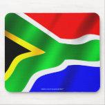 Bandera de la bandera patriótica Mousepad del mund