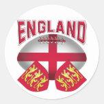 Bandera de la bola de rugbi de Inglaterra Etiquetas