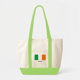 Bandera de la bolsa de asas de Irlanda