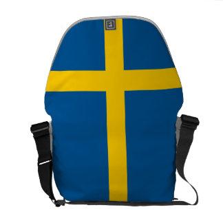Bandera de la bolsa de mensajero de Suecia Bolsa De Mensajería