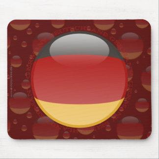 Bandera de la burbuja de Alemania Alfombrillas De Ratones
