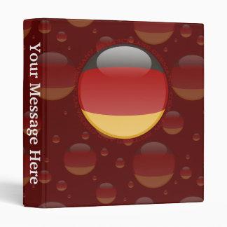 "Bandera de la burbuja de Alemania Carpeta 1"""