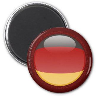 Bandera de la burbuja de Alemania Imán