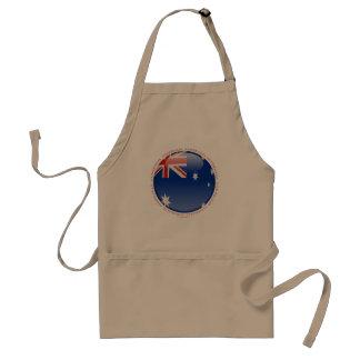 Bandera de la burbuja de Australia Delantales