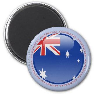Bandera de la burbuja de Australia Iman De Frigorífico