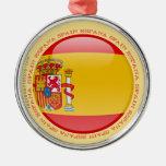 Bandera de la burbuja de España Adorno Para Reyes