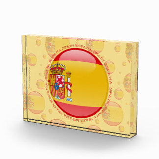 Bandera de la burbuja de España