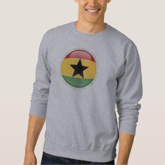 Bandera de la burbuja de Ghana Sudadera