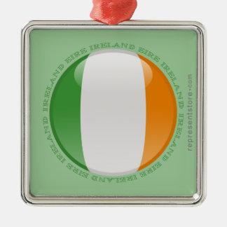 Bandera de la burbuja de Irlanda Ornamento Para Reyes Magos
