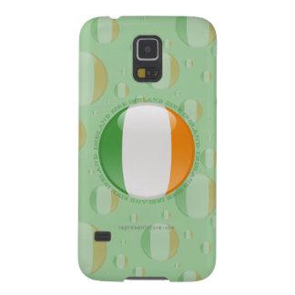 Bandera de la burbuja de Irlanda Funda De Galaxy S5