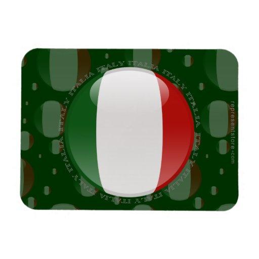 Bandera de la burbuja de Italia Iman