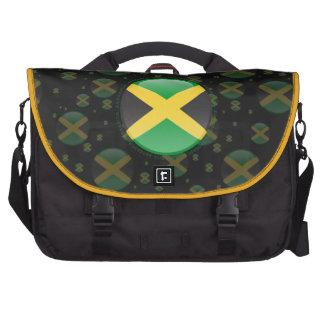 Bandera de la burbuja de Jamaica Bolsa De Ordenador