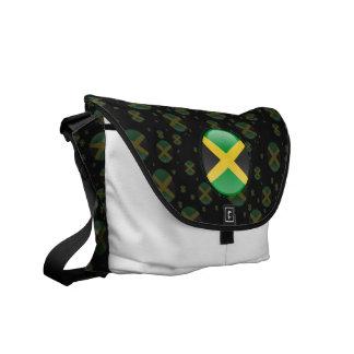 Bandera de la burbuja de Jamaica Bolsa Messenger