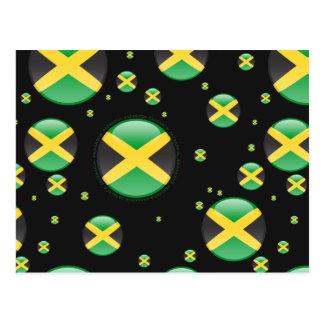 Bandera de la burbuja de Jamaica Postales