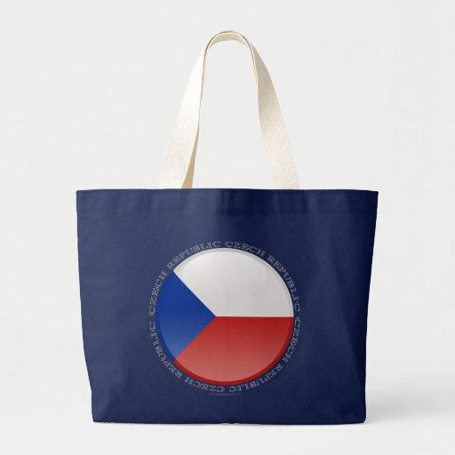 Bandera de la burbuja de la República Checa Bolsa