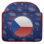Bandera de la burbuja de la República Checa Fundas Para Macbook Pro
