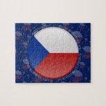 Bandera de la burbuja de la República Checa Rompecabezas Con Fotos