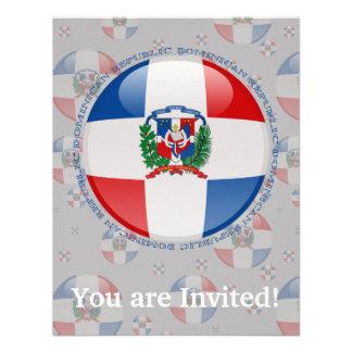 Bandera de la burbuja de la República Dominicana Comunicados Personalizados