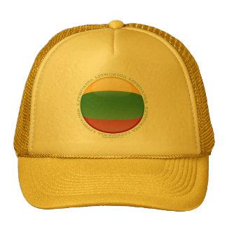 Bandera de la burbuja de Lituania Gorro De Camionero