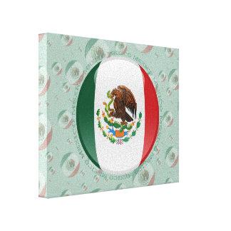 Bandera de la burbuja de México Lona Estirada Galerias