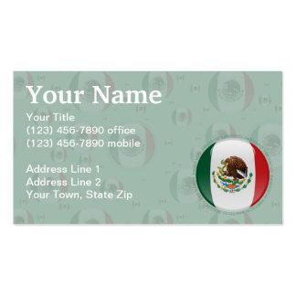 Bandera de la burbuja de México Tarjetas De Visita