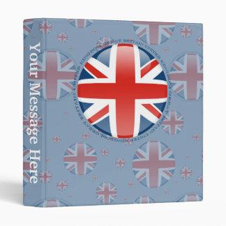 """Bandera de la burbuja de Reino Unido Carpeta 1"""""""