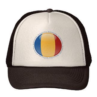 Bandera de la burbuja de Rumania Gorro