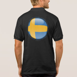 Bandera de la burbuja de Suecia Polos