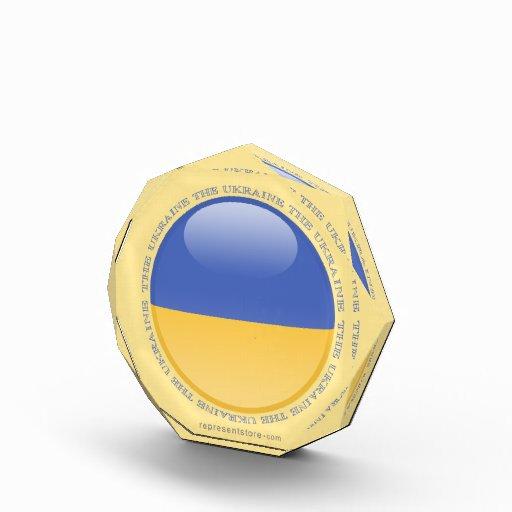 Bandera de la burbuja de Ucrania