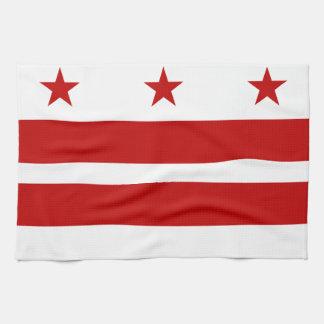 Bandera de la C.C. de Washington Toallas De Mano