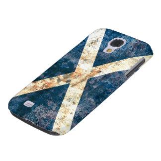 Bandera de la caja de la galaxia de Escocia Samsun Carcasa Para Galaxy S4