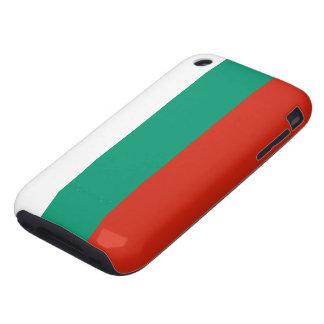 Bandera de la caja de la mota del iPhone 3 de Bulg iPhone 3 Tough Protectores