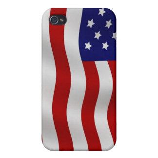 Bandera de la caja de la mota del iPhone 4/4s de E iPhone 4 Cárcasa